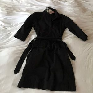 Burberry Shirtdress with 1/2 Sleeves & Tie-waist